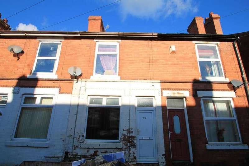 2 Bedrooms Terraced House for sale in Lonsdale Road, Nottingham