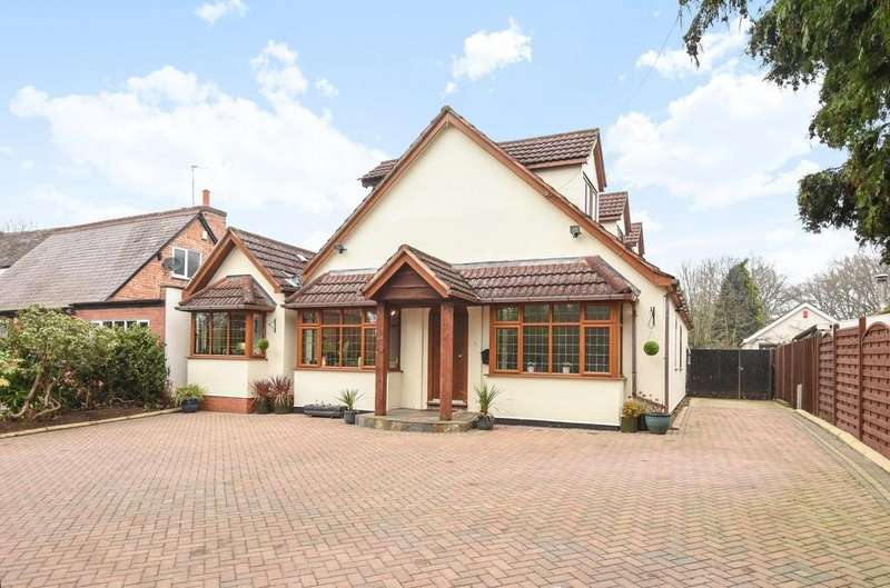 4 Bedrooms Detached House for sale in Lowbrook Lane, Tidbury Green