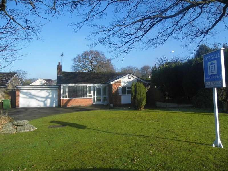 2 Bedrooms Detached Bungalow for sale in Norton Lane, Tidbury Green