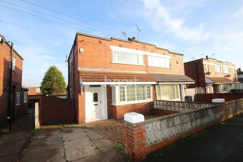 2 Bedrooms Semi Detached House for sale in Edith Terrace, Scawsby