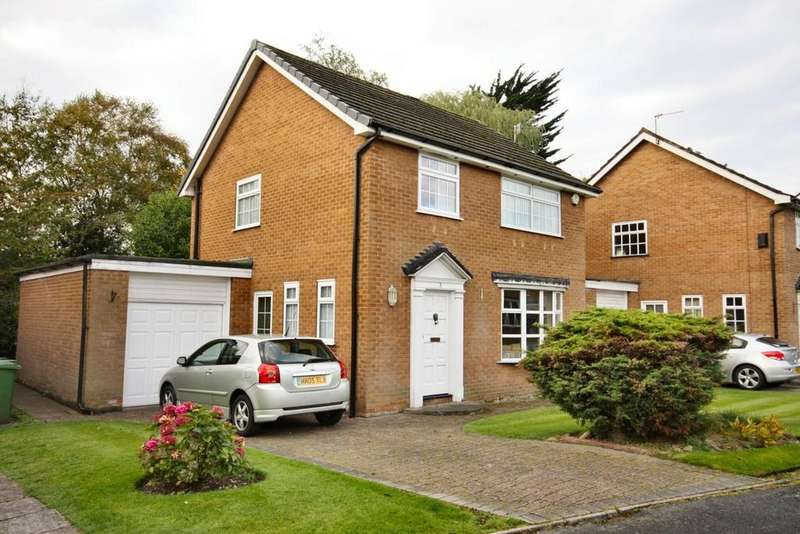 3 Bedrooms Detached House for sale in Clare Avenue, Handforth