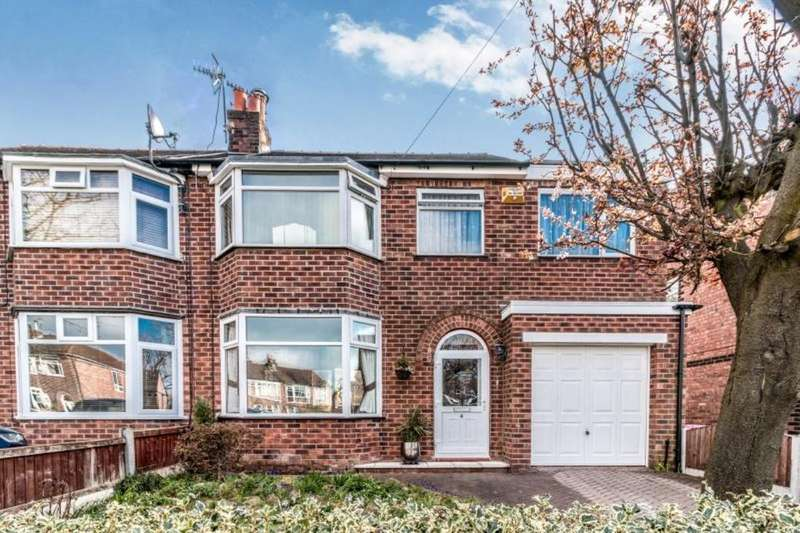 4 Bedrooms Semi Detached House for sale in St. Marks Crescent, Worsley, Manchester, M28