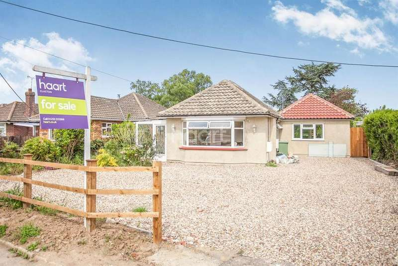 3 Bedrooms Bungalow for sale in Bentley Road, Weeley