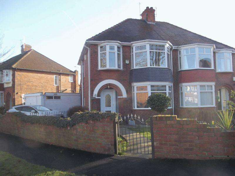 3 Bedrooms Semi Detached House for sale in Chestnut Avenue, Willerby
