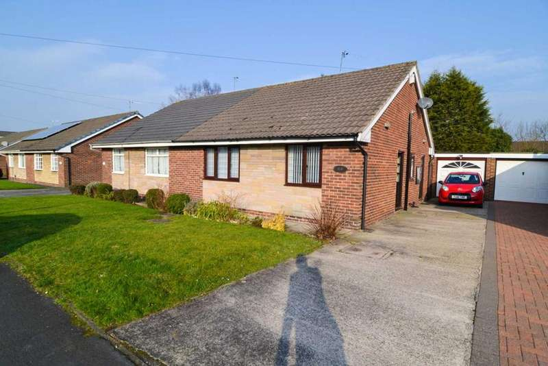 2 Bedrooms Semi Detached Bungalow for sale in Avondale Road, St Helens