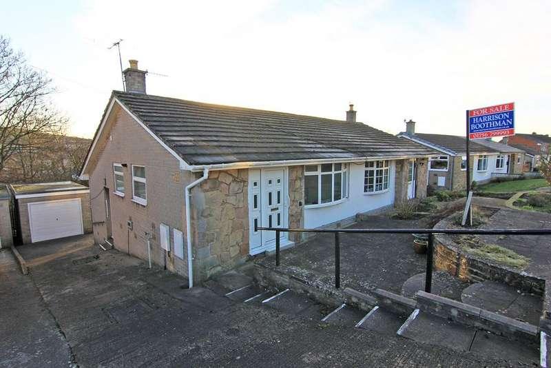 2 Bedrooms Semi Detached Bungalow for sale in 7 Moor Crescent, Skipton,