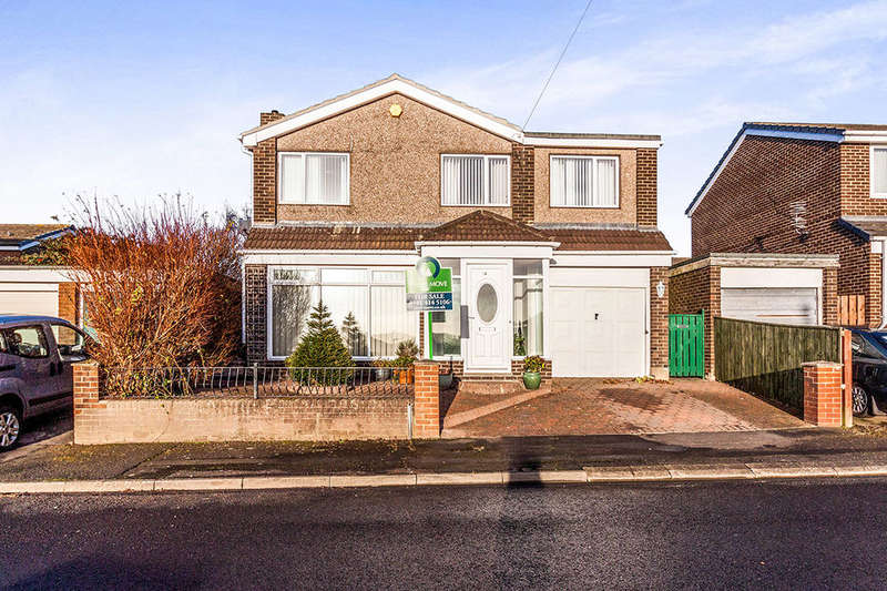 4 Bedrooms Detached House for sale in Redesdale Avenue, Blaydon-On-Tyne, NE21