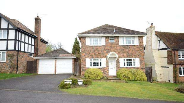 4 Bedrooms Detached House for sale in Melksham Close, Lower Earley, Reading