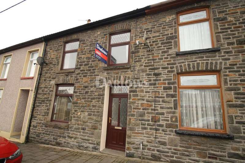 3 Bedrooms Terraced House for sale in Crawshay street, Ynysybwl