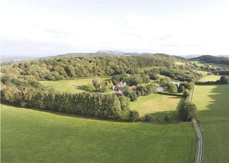 7 Bedrooms Farm House Character Property for sale in Crews Hill, Alfrick, Worcestershire, Herefordshire, WR6