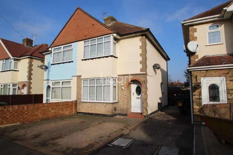 3 Bedrooms Semi Detached House for sale in Ashford Avenue, Ashford