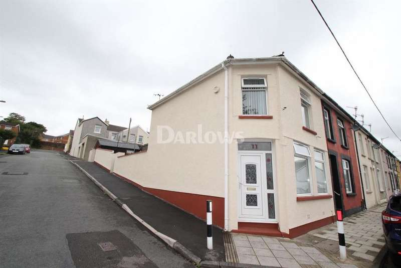 3 Bedrooms End Of Terrace House for sale in Alexandra Road, Hengoed