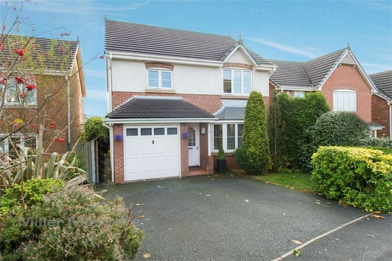 4 Bedrooms Detached House for sale in Cross Keys Drive, Whittle-le-Woods, Chorley, Lancashire