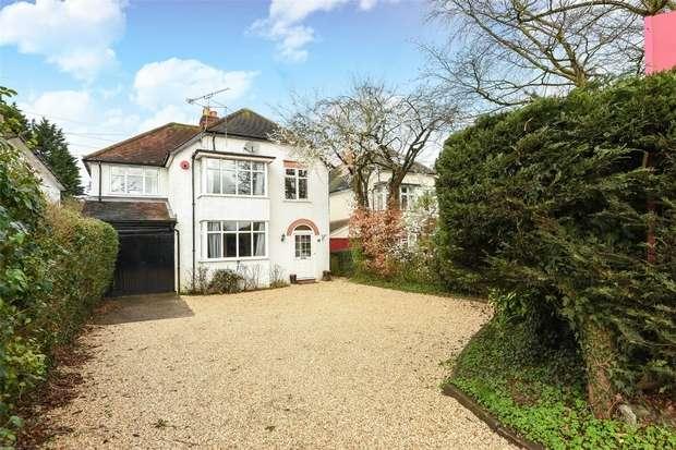 4 Bedrooms Detached House for sale in Finchampstead Road, WOKINGHAM, Berkshire