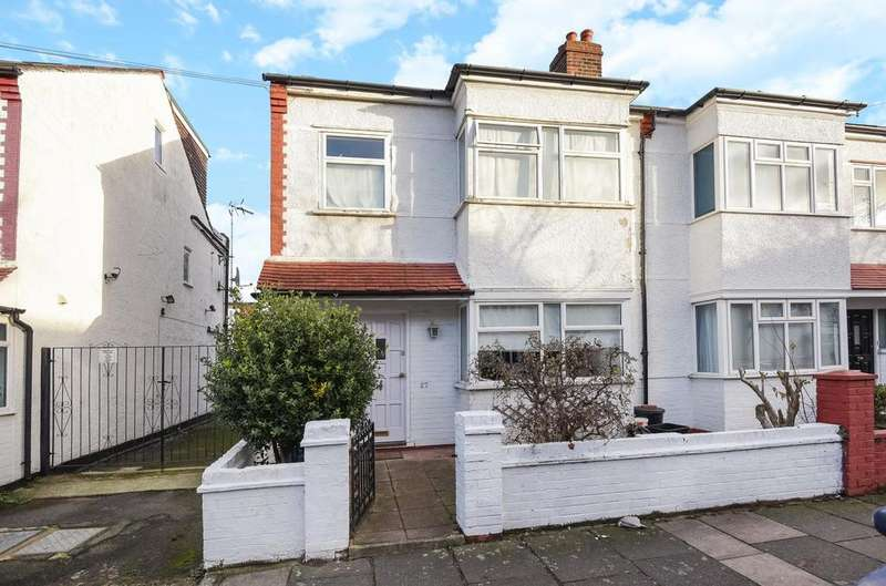 3 Bedrooms End Of Terrace House for sale in Wallorton Gardens, East Sheen