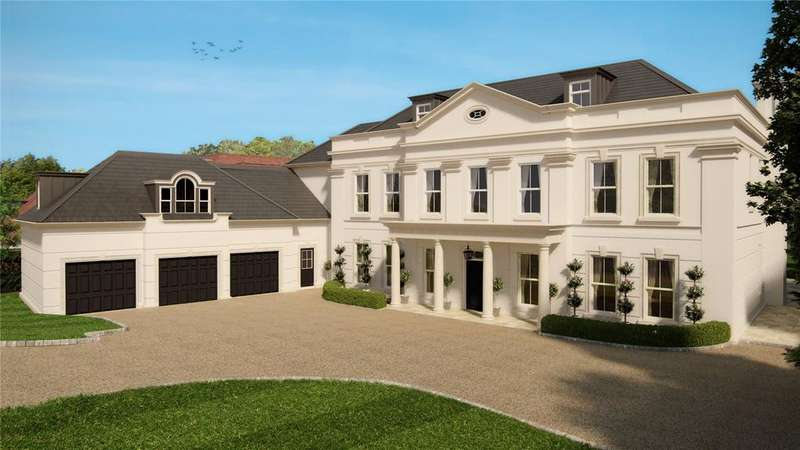 6 Bedrooms Detached House for sale in Eaton Park, Cobham, Surrey, KT11
