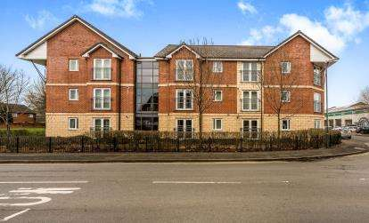 2 Bedrooms Flat for sale in Parkwood Court, Park Street, Kidderminster, Worcestershire
