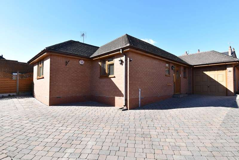 2 Bedrooms Detached Bungalow for sale in Tagwell Road, Droitwich