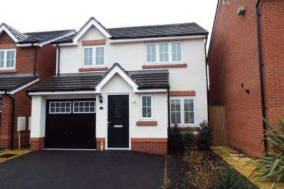 3 Bedrooms Detached House for sale in Charles Bowden Place, Haslington, Crewe, Cheshire