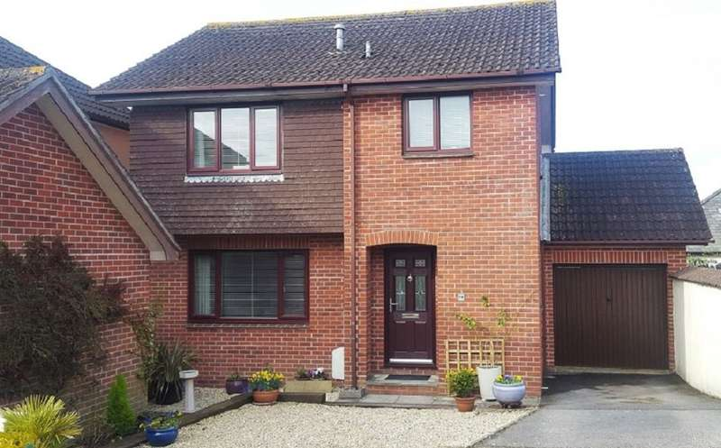 3 Bedrooms Detached House for sale in Crokers Way, Ipplepen, Newton Abbot