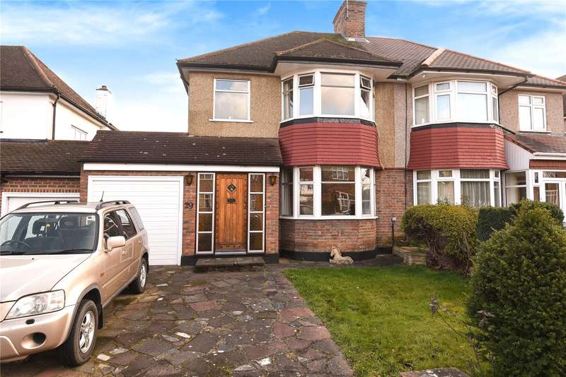 3 Bedrooms Semi Detached House for sale in Beechcroft Avenue, Harrow, Middlesex, HA2
