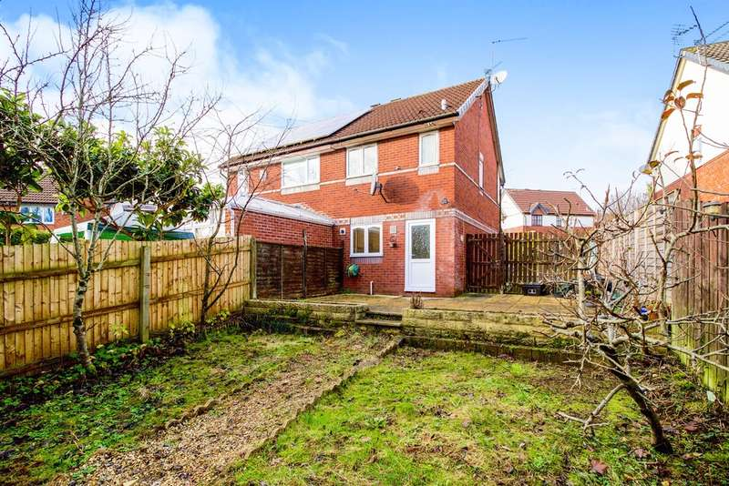 2 Bedrooms Semi Detached House for sale in Rushfield Gardens, Bridgend