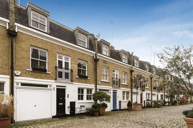 3 Bedrooms Mews House for sale in Elnathan Mews, London