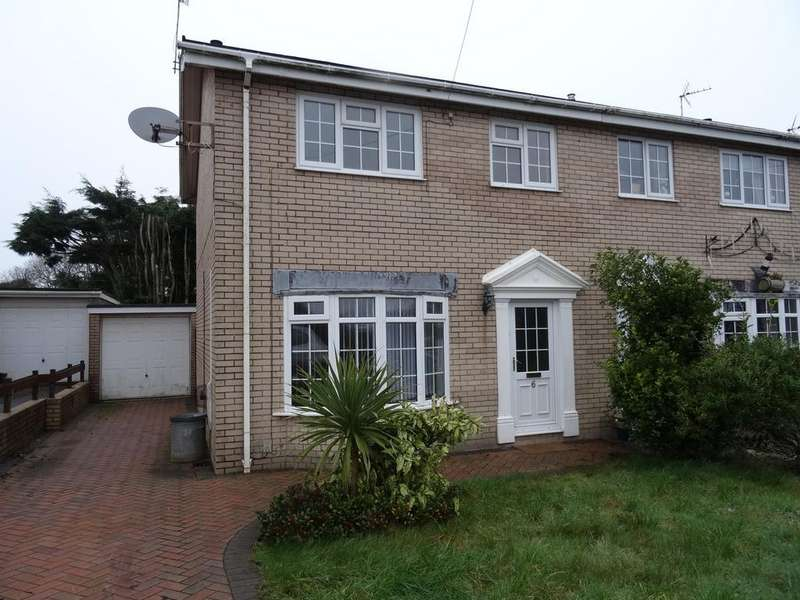 3 Bedrooms Semi Detached House for sale in FORGE WAY, NOTTAGE, PORTHCAWL, CF36 3RP