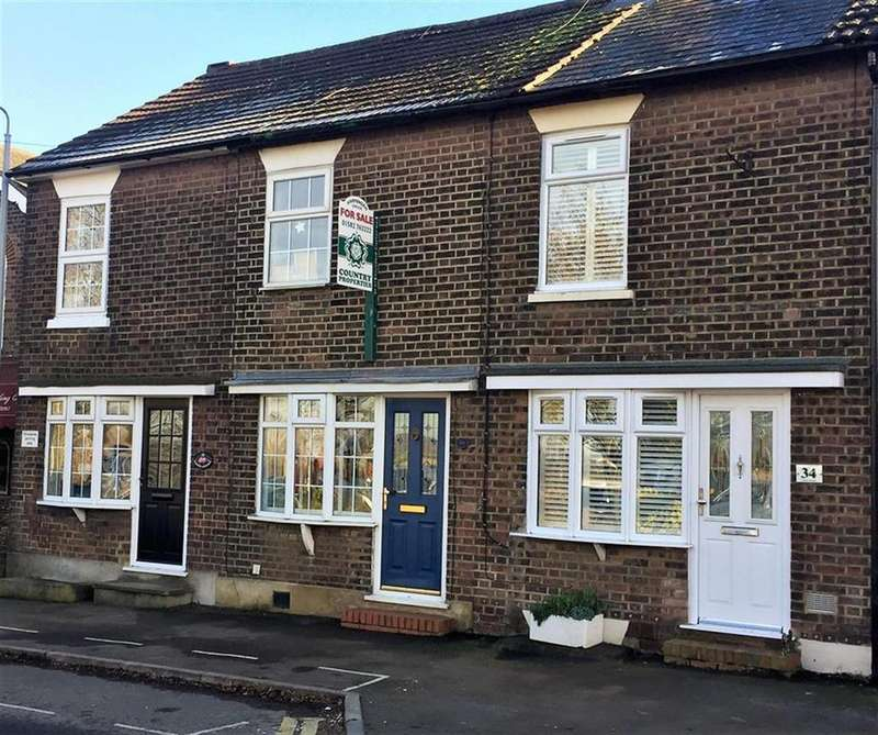 2 Bedrooms Terraced House for sale in Church Road, Slip End , Bedfordshire , LU1 4BJ