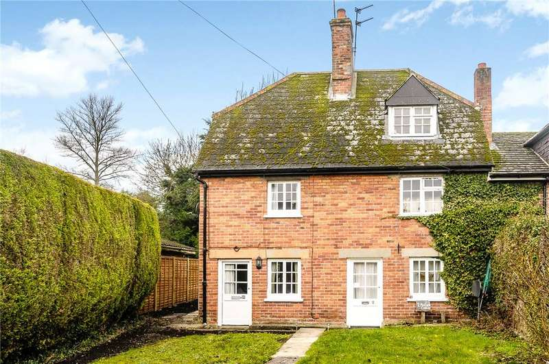 2 Bedrooms Semi Detached House for sale in Mill Farm Cottage, The Millham, West Hendred, Wantage, OX12