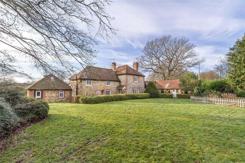 4 Bedrooms Detached House for sale in Woodmansgreen, Linch, Liphook, Hampshire, GU30