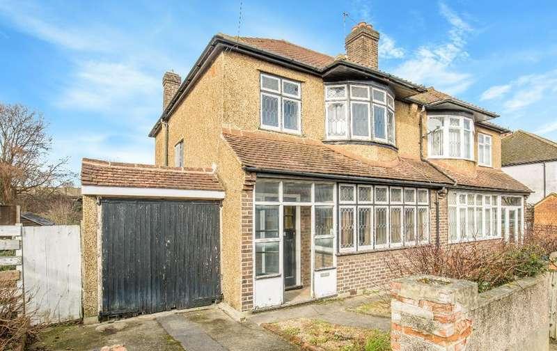 3 Bedrooms Semi Detached House for sale in Norman Avenue, Sanderstead, Surrey, CR2 0QE