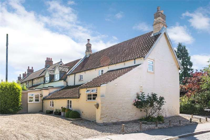 3 Bedrooms Terraced House for sale in Virginia Cottage, 12 High Street, Leadenham, Lincoln, LN5
