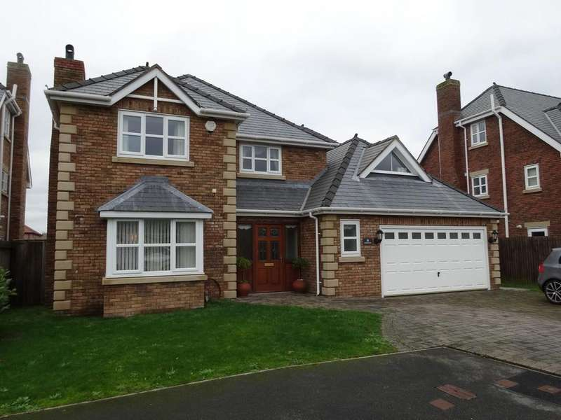 5 Bedrooms Detached House for sale in Castlefields, Rhuddlan