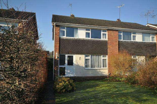 3 Bedrooms Semi Detached House for sale in Fairwater Drive, Woodley, Reading,