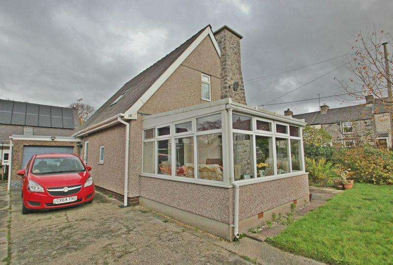 2 Bedrooms Detached House for sale in Caeathro, Gwynedd