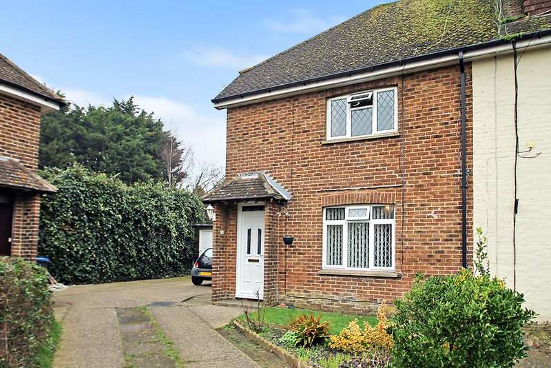 3 Bedrooms End Of Terrace House for sale in Cumbrian Close, Worthing BN13 2JF