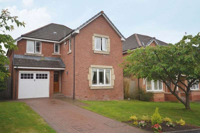 4 Bedrooms Detached House for sale in Priorwood Gardens, Academy Park, Glasgow, G13 1GD