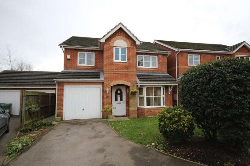 4 Bedrooms Detached House for sale in Redbarn Close, Middleton