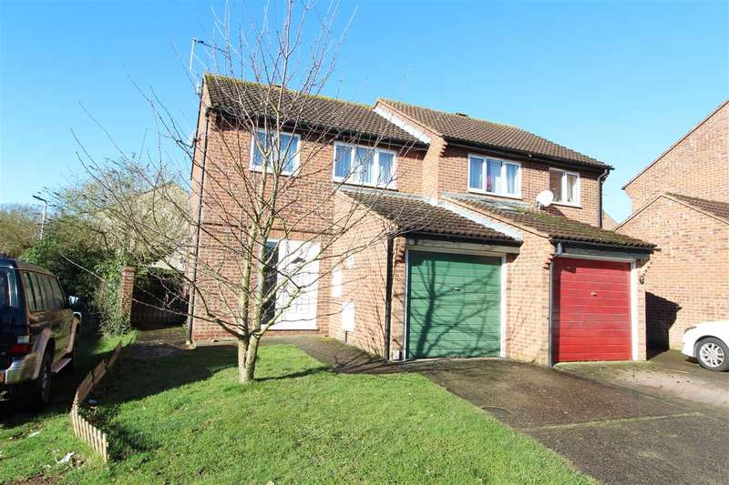 3 Bedrooms Semi Detached House for sale in Marasca End, Holt Drive, Colchester