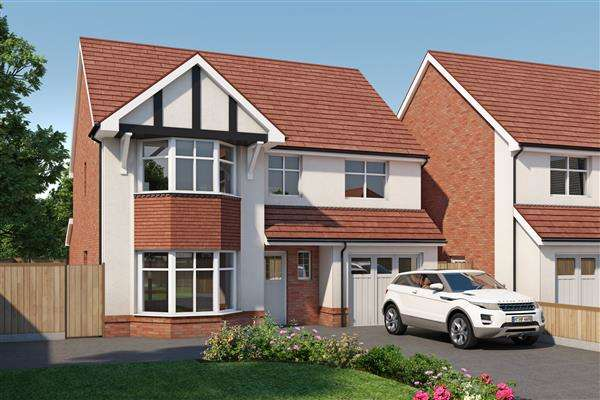 4 Bedrooms Detached House for sale in Mulberry Park, Forest Road, Ellesmere Port