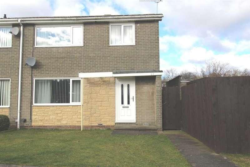 3 Bedrooms Semi Detached House for sale in Glenluce Drive, Southfield Green, Cramlington