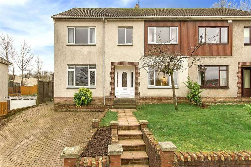 5 Bedrooms Semi Detached House for sale in 25 Park Avenue, Barrhead, Glasgow, G78