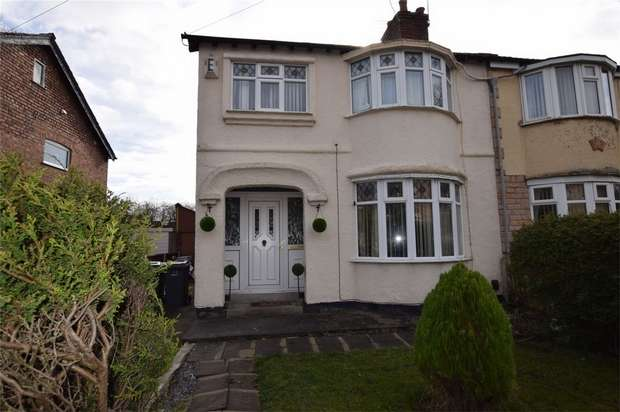 3 Bedrooms Semi Detached House for sale in Thorburn Road, New Ferry, Merseyside