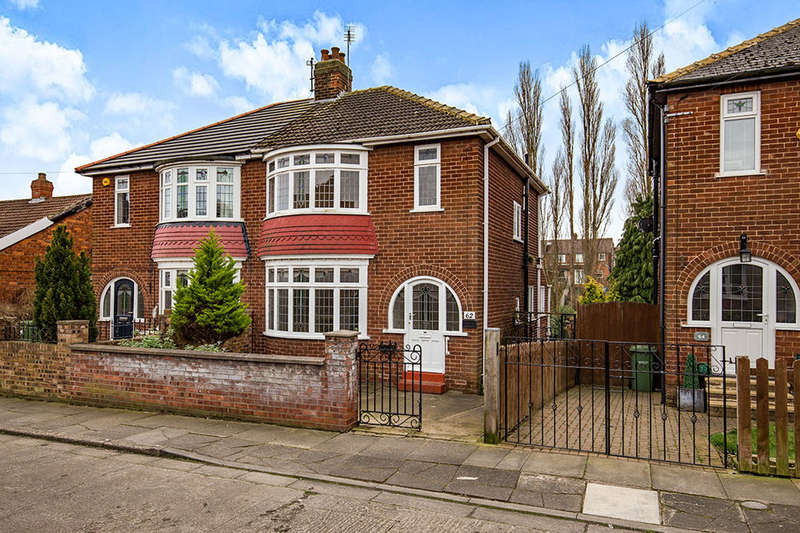 3 Bedrooms Semi Detached House for sale in Grange Avenue, Stockton-On-Tees, TS18