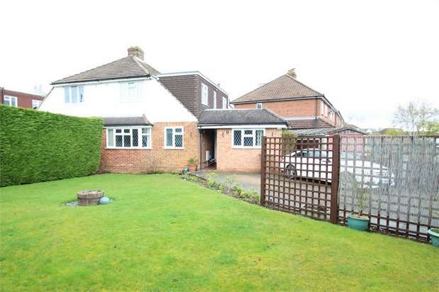 4 Bedrooms Semi Detached House for sale in Saffron Platt, GUILDFORD, Surrey