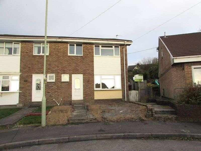 3 Bedrooms Semi Detached House for sale in Caeau Duon , Pencoed, Bridgend. CF35 6SW