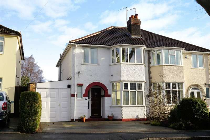 3 Bedrooms Semi Detached House for sale in Barrington Road, Solihull