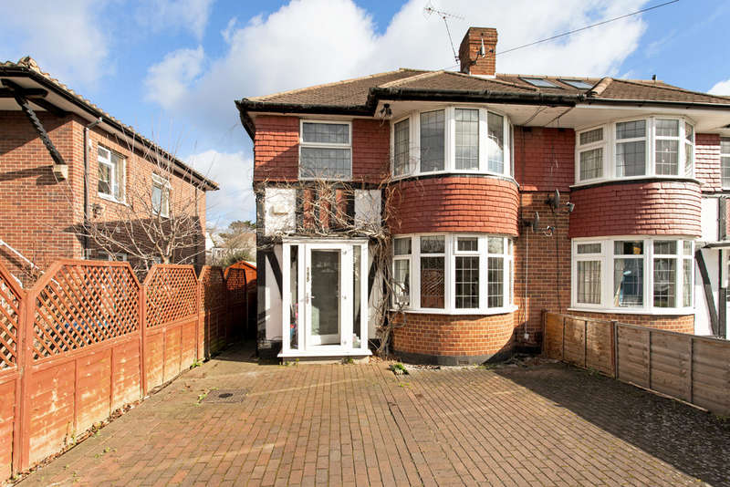 4 Bedrooms Semi Detached House for sale in Tudor Drive, Kingston Upon Thames, KT2
