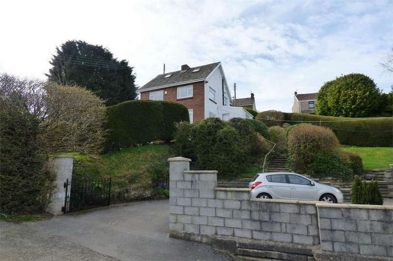 3 Bedrooms Detached House for sale in Cedar Roofs, Pleasant View, Llanelli, Carmarthenshire